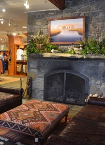 Lobby of the Orvis Flagship Store located at 4180 Main St, Manchester, VT